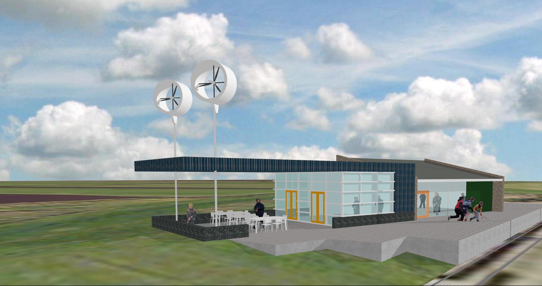 uitbreiding clubhuis Wijdewormer - 2009
