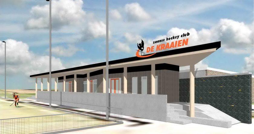 voorstel clubhuis De Kraaien - 2007